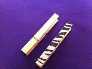 Decorative Clothespin