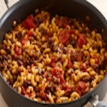 Beef and Vegetable Chili Mac
