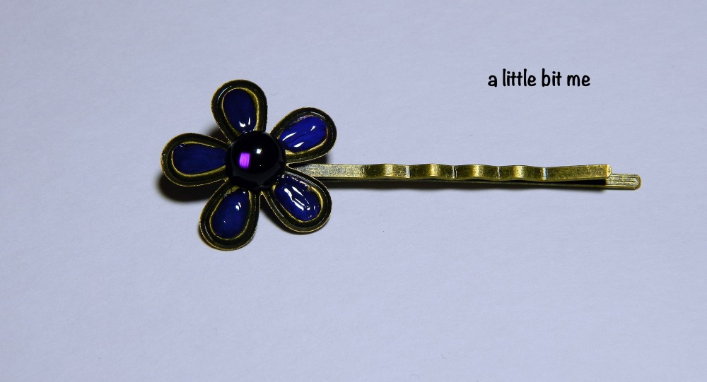 Embellished Flower Pin