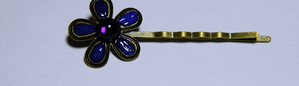 Embellished Flower Pin