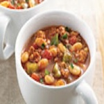 Moroccan White Bean Turkey Chili