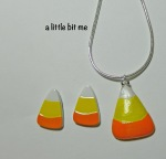 DIY Candy Corn Jewelry