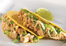 Cool and Crunchy Chicken Tacos
