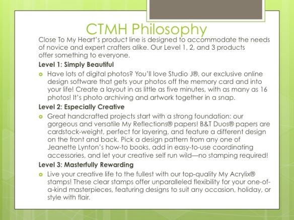 CTMH Philosphy
