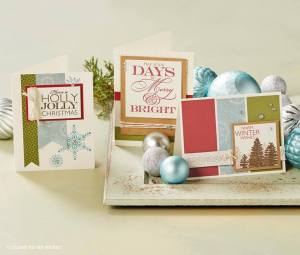 Frosted Cardmaking Kit