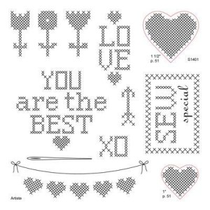 Cross-Stitch Wishes, January 2014 Stamp Of The Month