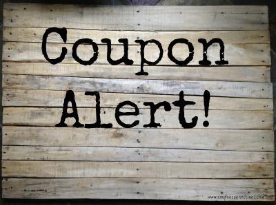 coupon alert